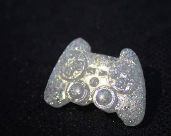 Holo Glittery Gamer Controller Pin