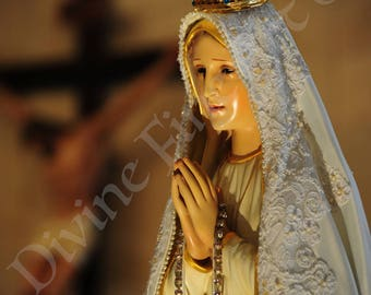 Our Lady of Fatima - Original Picture - Celebrate 100 year of the apparitions - [5958]