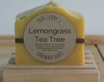 Lemongrass Tea Tree Handmade Soap