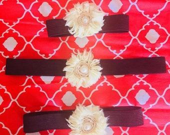 Rustic Floral Headband