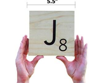 Word Tiles for Wall - Home Decor Giant Letter Tiles - Giant Letters - Wall Letter Decor - Lifesize Word Tiles