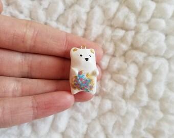Polar bear / Christmas charm