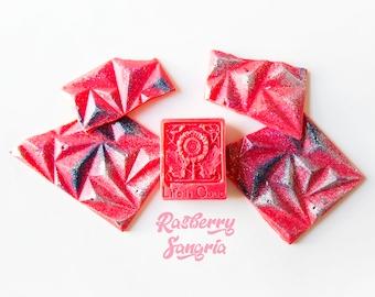 Raspberry Sangria Wax Melts (5.1 Oz.) - Tropical Scented Wax Melts - Hand Poured Wax - Wax Melt Snap Bars - Handmade Wax Melts - Scented