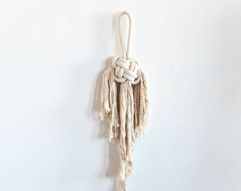 Good Luck - Knotted Rope Wall Hanging