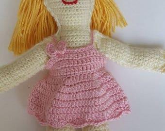 Sweet Crochet Doll Birthday
