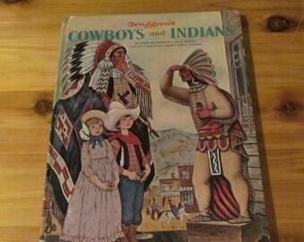 1968 Children's Bokks Cowboys and Indians
