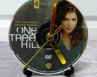 One Tree Hill DVD Clock Upcycled TV Show #3