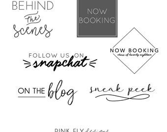 Social Media Overlays | Senior Overlays | Grad Overlays