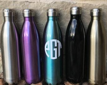 Monogrammed lnsulated bottle