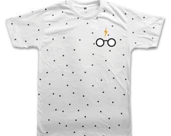 Harry Potter Deathly Hallows T-shirt Harry Potter Shirt funny tee