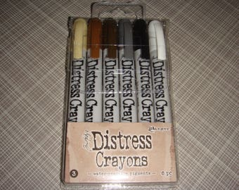 Tim Holtz Distress Crayon Set #3