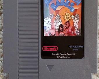 Bubble Bath Babes - Reproduction (Repro) NES Cartridge - NEW