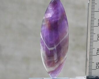 49.80 Cts AAA Quality Cabochons Natural Trapache Amethyst Quartz Fancy shape Gemstone Loose gemstone 55X19X6mm