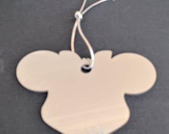 baby gift, baby garland, stroller decor, stroller chain, minnie mouse