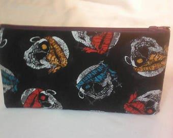 skulls print fabrics School Kit