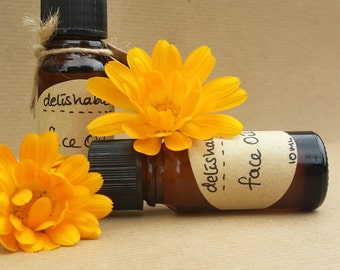 100% Natural Face Oil - Everyday Oil for All Skin Types