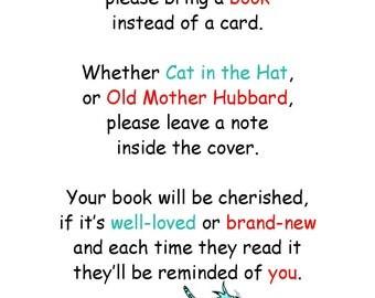 Cat In the Hat Book Request