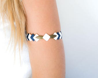 Bracelet - leather arm circumference