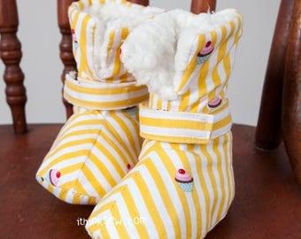 1211 Vina Baby Boots PDF Sewing Pattern