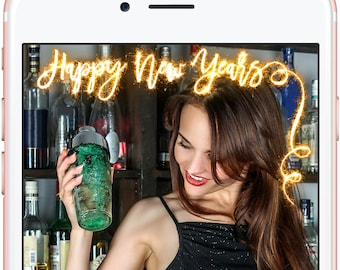 Instant Download Happy New Years It's Lit Geofilter, Happy New Year, New Years Eve Party, Party Geofilter, New Years Party Geofilter