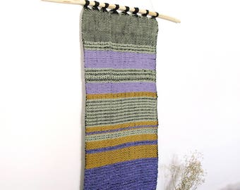 Hand Woven Tapestry - Pond