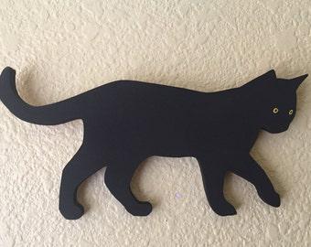 Black Cat Wall Decoration - the Marlowe