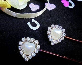 Hair grips, hair pins, hair grip, bridal hair grips, bridesmaid hair grips, hair accessories, bridal hair pins, bridal gift.
