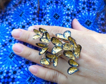 Gold Butterfly Ring- 'The Migration'
