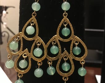 Aventurine Earrings by Dobka