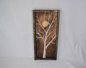 Wall Art, Farmhouse Decor, Nature Art, Wood Wall Art, Wood Art,