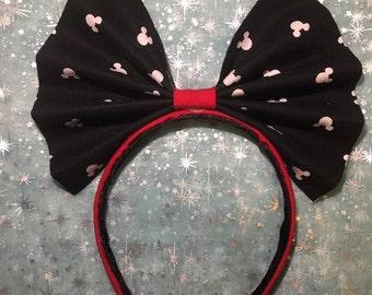 Big Mickey Headband Bow