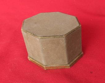 boite à poudre ancienne et de collection, Richard Hudnut, old powder box,vecchia scatola di polvere, collezione di profumi, colección
