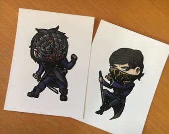 Dishonored Stickers