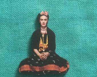 Frida Wooden Needle Minder