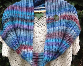 """Double Snood, hand knitted, Collection """"Bodach an storr"""""""