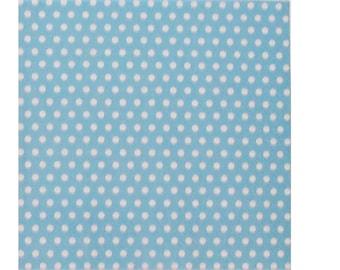 Set of 3 napkins HOD079 dots background turquoise