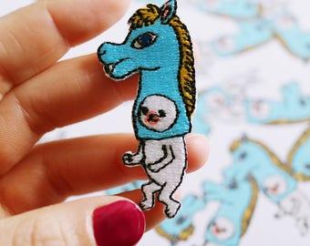 "Patch, Artist Collaboration with Takanori Ishizuka, edition 200, ""Horse"""