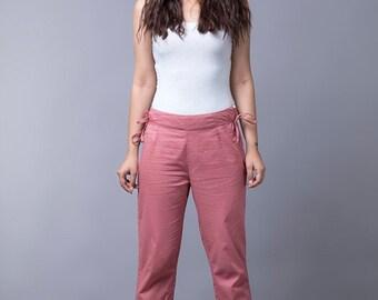 Women's Dusky Pink Trouser