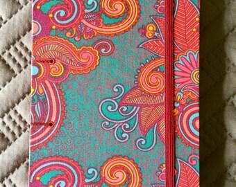 Handmade Journal, Handmade Sketchbook, Handmade Notebook, Bookbinding, Hardcover Journal, Book Arts, Gift for Her, Gift for Mom