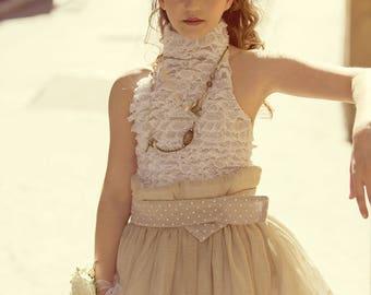 "Ceremonial dress children ""Chloé"""
