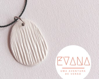 White Beachy Necklace # 18