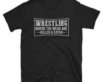 Wrestling Shirt Wrestling Gift Funny T-Shirt