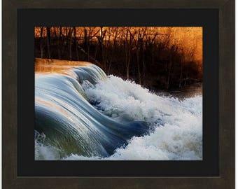 Wall Decor/ Print of Waterfall/ Wedding gift/ Housewarming gift/ Birthday gift/ Nature Print/ Art Print/Framed/ Unframed