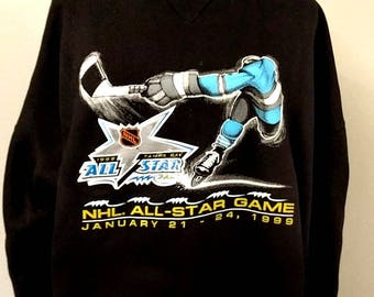 1999 NHL All Star Game Crewneck Sweater