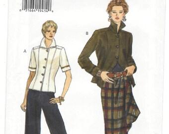 9015 Very Easy Very Vogue - Misses Jacket, Skirt, Pants - UNCUT Sewing pattern Sz. 6-8-10