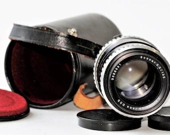 SONNAR 3,5/135 Carl Zeiss Jena DDR #9388631 Good Condition Vintage lens