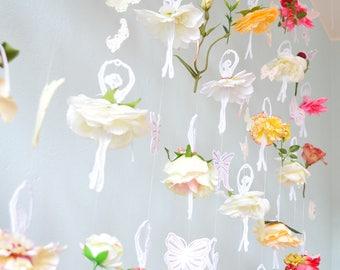 flower curtain,dancing ballerina lace,ornament, romance,hanger,flower,ballet,rose,mobile,wedding,window,rose,garland,