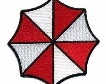 FREE SHIPPING *** Small Umbrella Corporation Embroidered Patch - Resident Evil ~ NEW ~