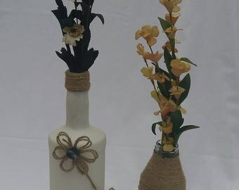 Wine Bottle Handmade Vase