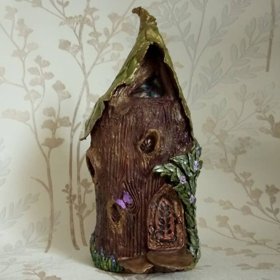 Feuille de maisonnette Fairy House fait à la main